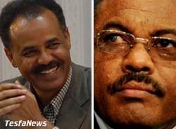 President Isaias Afewerki and PM Hailemariam Desalegn