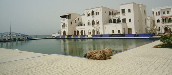 One of the 5-star hotels in Massawa – the Grand Dahlak Hotel