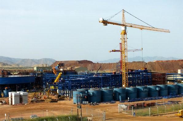 Copper Expansion Flotation Area