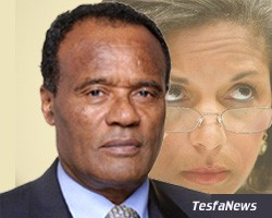 Ethiopia's Ambassador to the UN, Dr. Tekeda Alemu, contributed to Rice's mistakes on Eritrea to further undermining her credibility & integrity