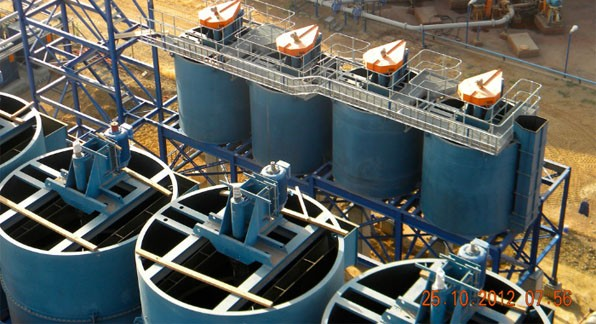 """Strong fundamentals underpin the copper price going into 2013.""""(Photo: Primary Copper Float Cell Installations)"""