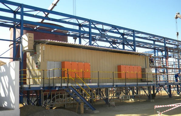 One Motor Control Center Being Wired, Jan 03,2013