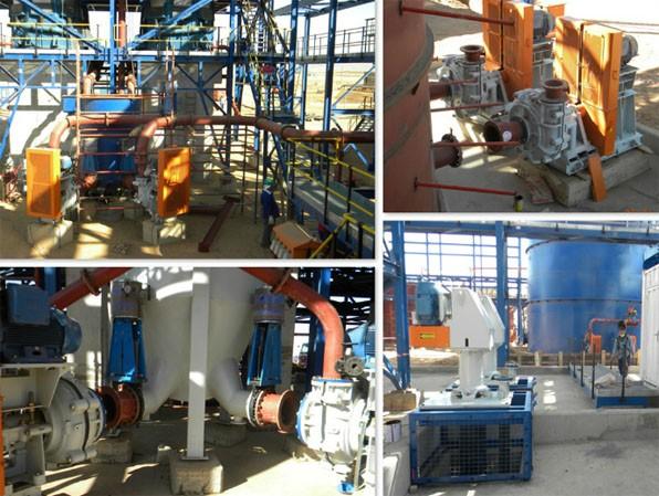 Various Pump Installations, Jan 03, 2013