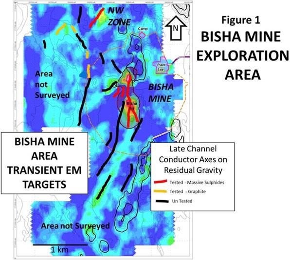 Fig.1 - Bisha Mine Exploration Area