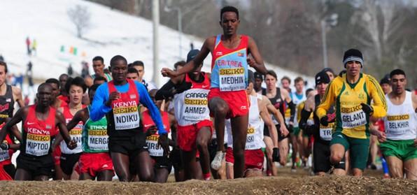 Medhin Leads Eritrea's World Cross Team for Guiyang