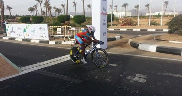 Wehazi Kidane winning 2nd place at the 2013 African Championship