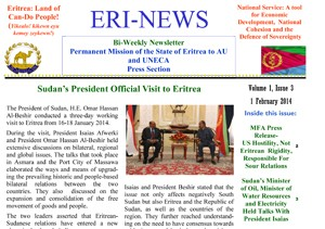 Eritrean Mission to the AU and UNECA released Eri-News 1.10