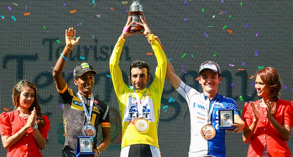 Merhawi Kudus won second in the General Classification while his team MTN-Qhubeka named the best team of the tour after winning the team GC