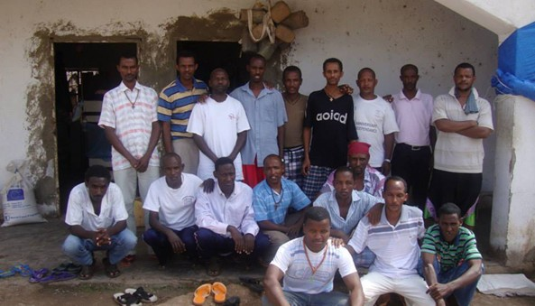 The 19 Eritrean Prisoners of War (POW) that has are detained at the Negad detention center in Djibouti during the short border skirmish between Eritrea and Djibouti from 10 - 13 June 2008