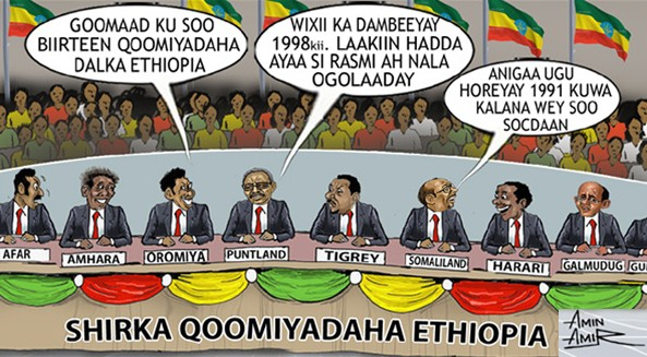 Do the current Somalia leaders think they are the new found members of the Ethiopian national Killil?