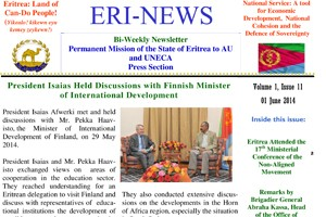 Eritrean Mission to the AU and UNECA released Eri-News 1.11