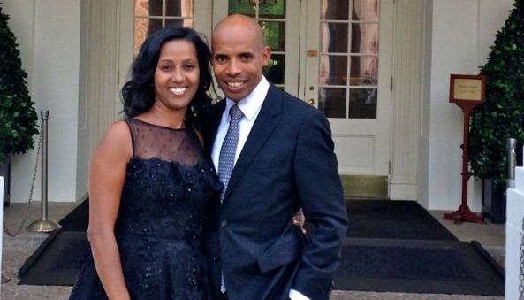 Had a great evening dining at the White House with my lovely wife