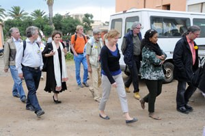 A group of Friends-of-Eritrea from Germany and Switzerland arrived in Eritrea for a visit