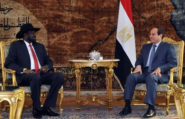 Salva Kiir held closed talks with his Egyptian counterpart with both countries signing several agreements on future cooperation