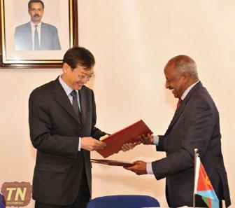 China and Eritrea Sign Mutual Visa Exemption Deal