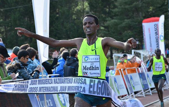 Eritrea's Medhin Bags His Third Successive Victory for January in Elgoibar