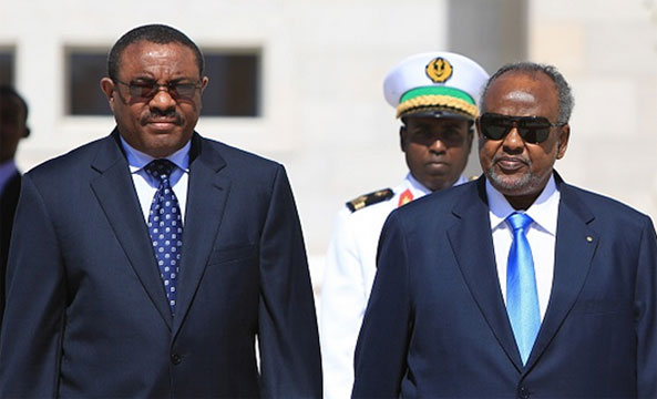 PM Desalegn Asks President Guelleh to Calm Issa Leader