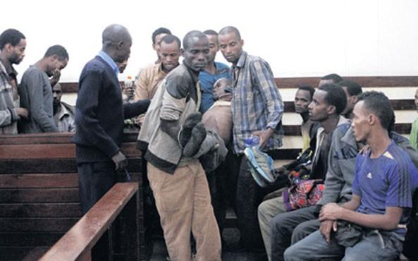 Kenya: 101 Illegal Ethiopian Migrants Appear in Court