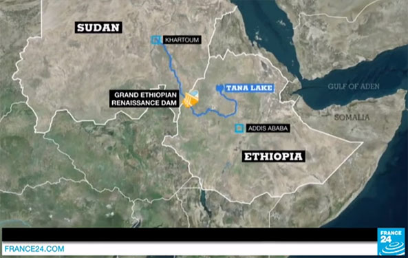 France 24 Reports on Ethiopia's Renaissance Dam