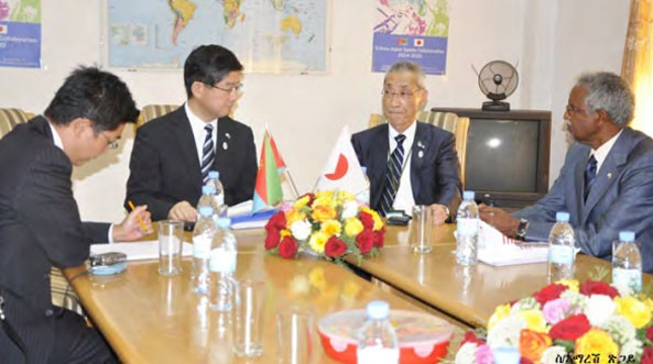 Japanese Government Delegation Holds Talks With Eritrean Government Officials