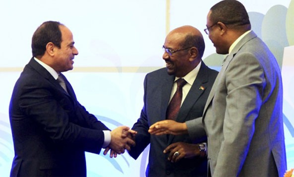 Egypt, Ethiopia and Sudan have signed a declaration of principles