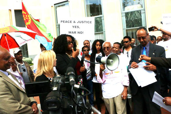 Eritreans in the Bay Area Hold Rally for Truth, Peace and Justice