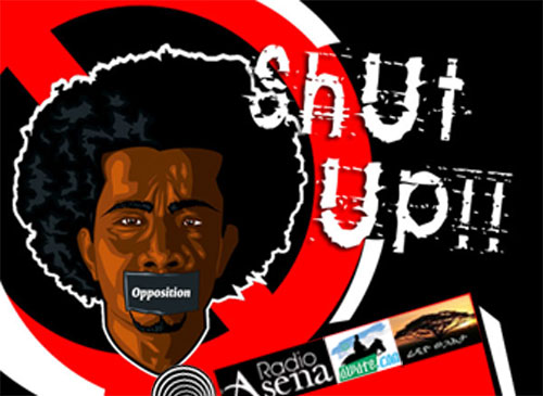 Eritrean opposition shut up