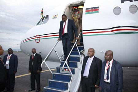 President Uhuru's Jet Routing Blunder Over Eritrean Skies