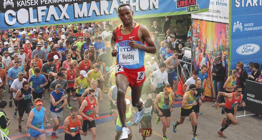 Eritrean Runner Breaks Colfax Half Marathon Record