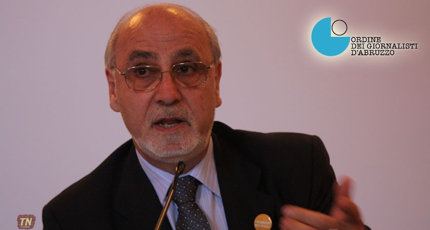 President Vincenzo Iacopino of the Italian Order of Journalists
