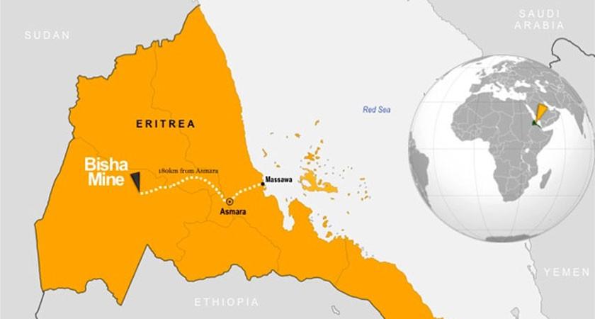Eritrea Waves the Mining Flag