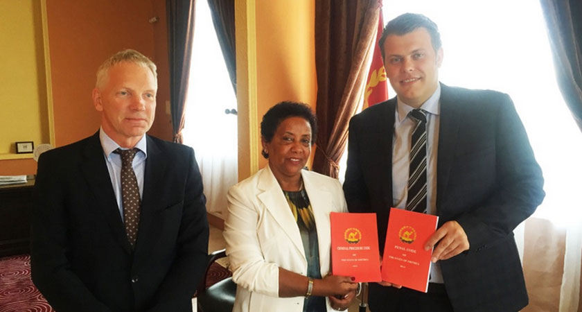 Norway's Jøran Kallemyr Satisfied with Eritrea Trip