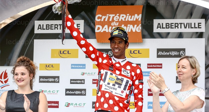 Eritrean rider Daniel Teklehaimanot is one of the top 5 climbers to Watch at the 2015 Tour de France
