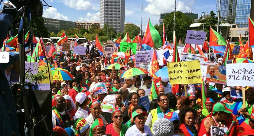 Mainstream Media Ignores Europe-wide Eritrean Demonstration