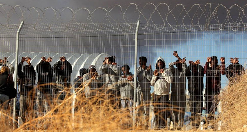 Israel Releases Hundreds of Migrants from Desert Facility