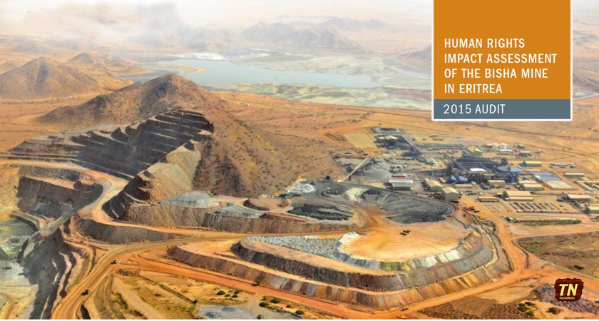 Independent Study Finds No Evidence of Human Rights Abuse at Eritrea Mine