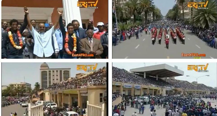 A Hero's Welcome for Eritrea's Cycling Greats