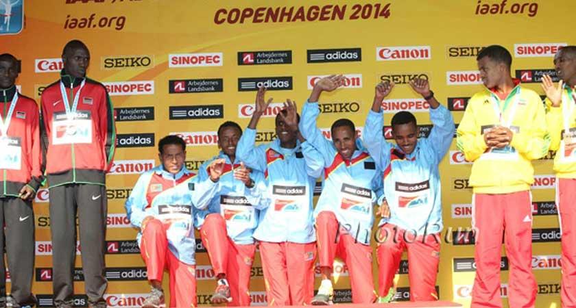 Eritrean National Team Leaves for Beijing World Championships