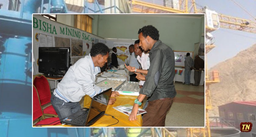 Mining Companies' Exhibition at Festival Eritrea 2015