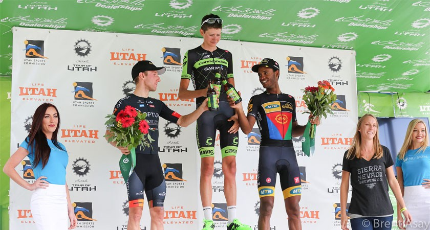 #TOU15: 'Most Aggressive Rider' Natnael Berhane 3rd on Final Stage