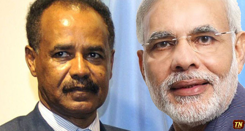 Eritrean President Receives Invitation from Indian Prime Minister