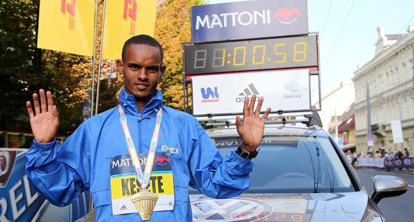 Merhawi Kesete Wins Usti nad Labem Half Marathon