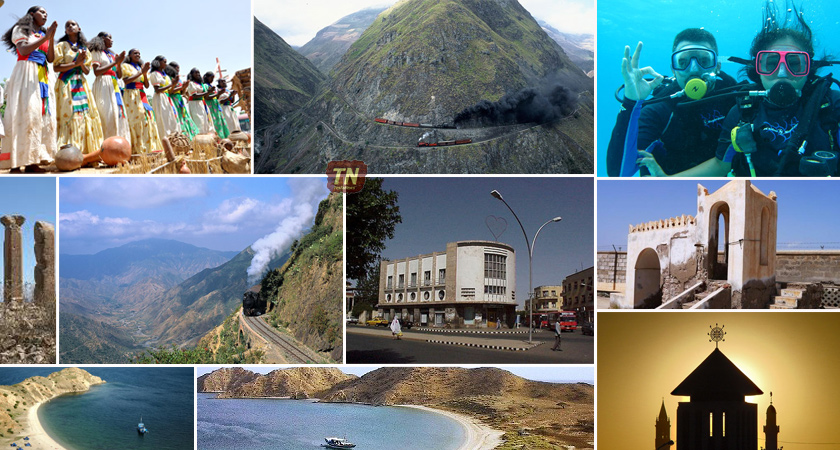 Eritrea's opportunities from the Tourism