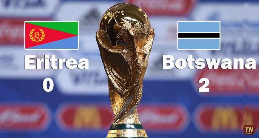 Eritrea Lose First Leg Away to Botswana