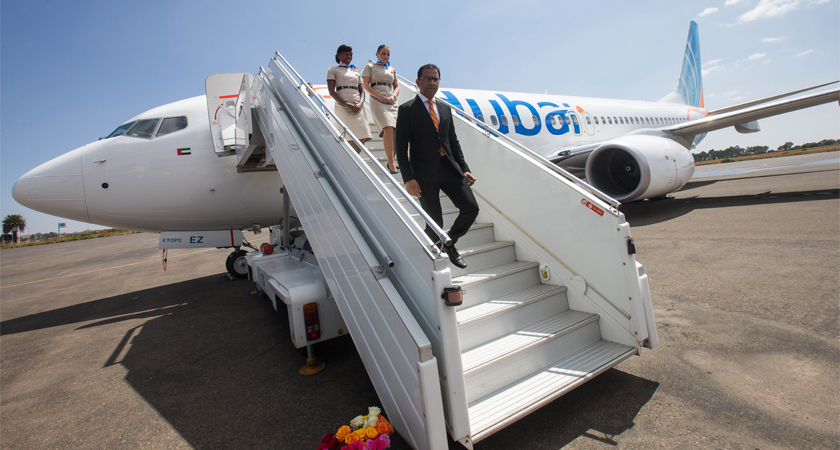 flydubai Arrives in Asmara, Eritrea