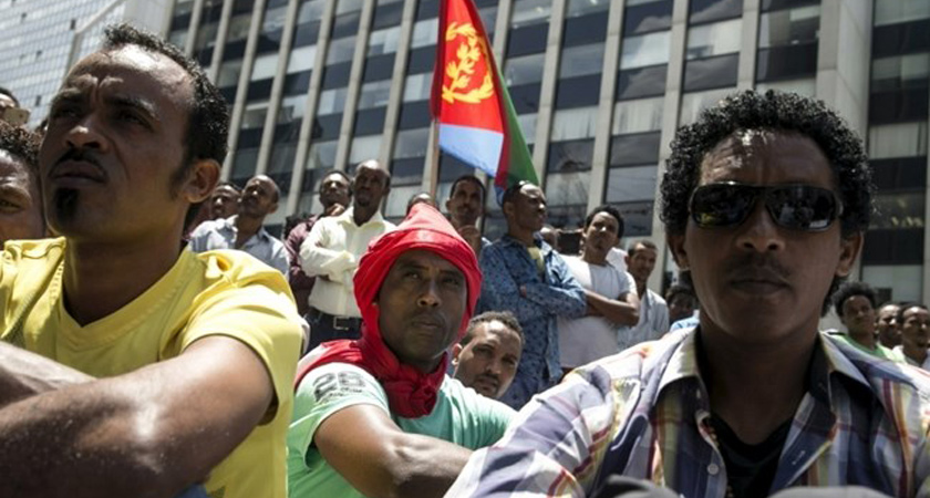 Eritrean migrant in Israel
