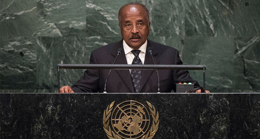 Eritrea Addresses UN General Assembly on Human Trafficking