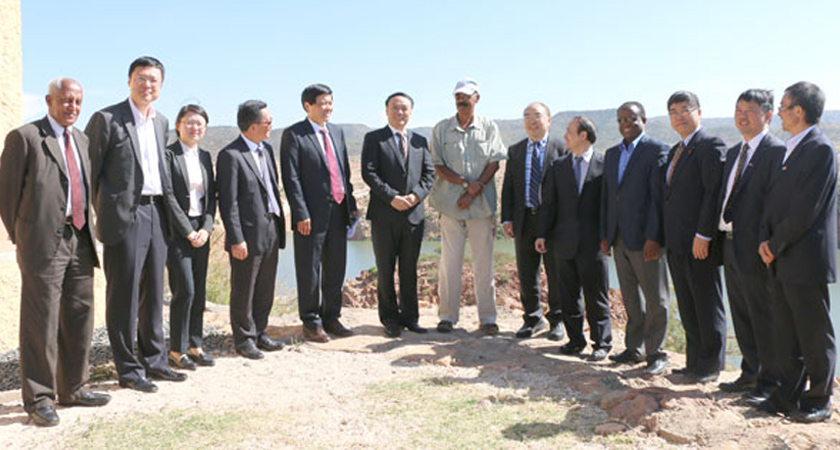 President Isaias Afwerki Receives Chinese Delegation