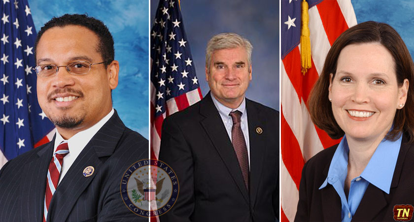 Members of Congress Ellison, McCollum, and Emmer
