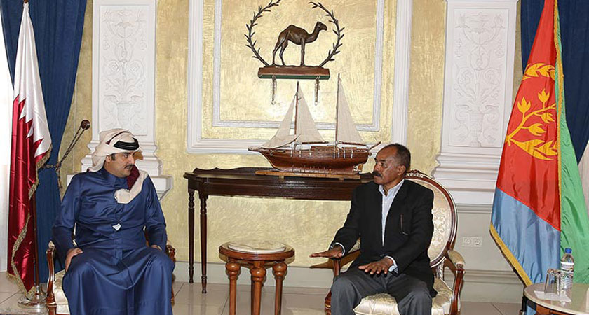 Emir of Qatar on State Visit to Eritrea